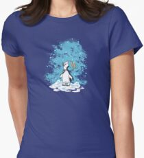 First Snow Women's Fitted T-Shirt