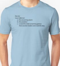 Dr. Who definition Unisex T-Shirt