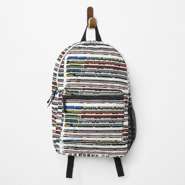 BRITISH TRAINS Backpack