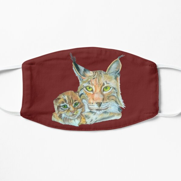 Lynxes (The Lynx with Baby) Mask