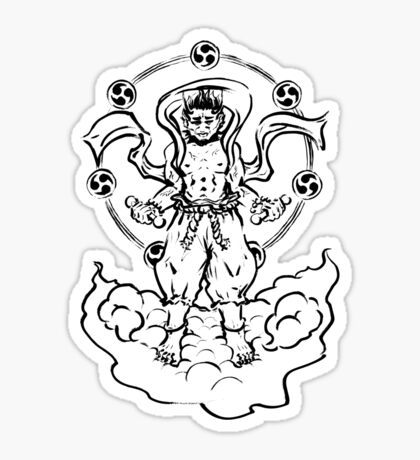 Raijin Sticker