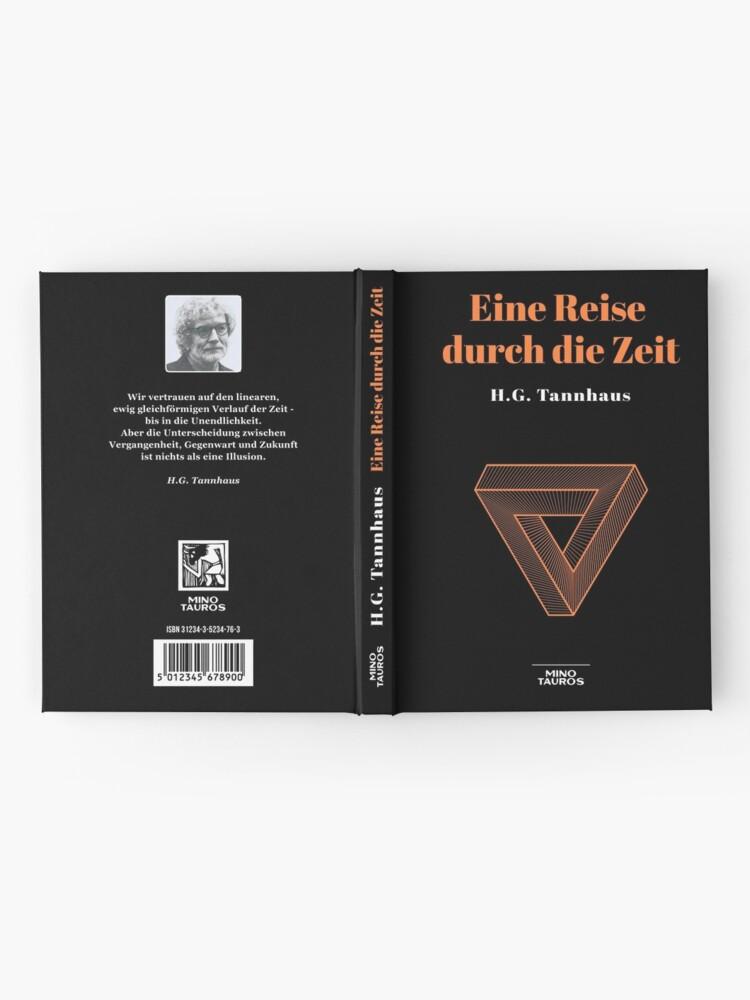 Alternate view of Eine Reise durch die Zeit - H.G. Tannhaus DARK Hardcover Journal