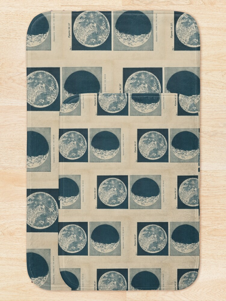 Alternate view of Full And Crescent Moon Bath Mat