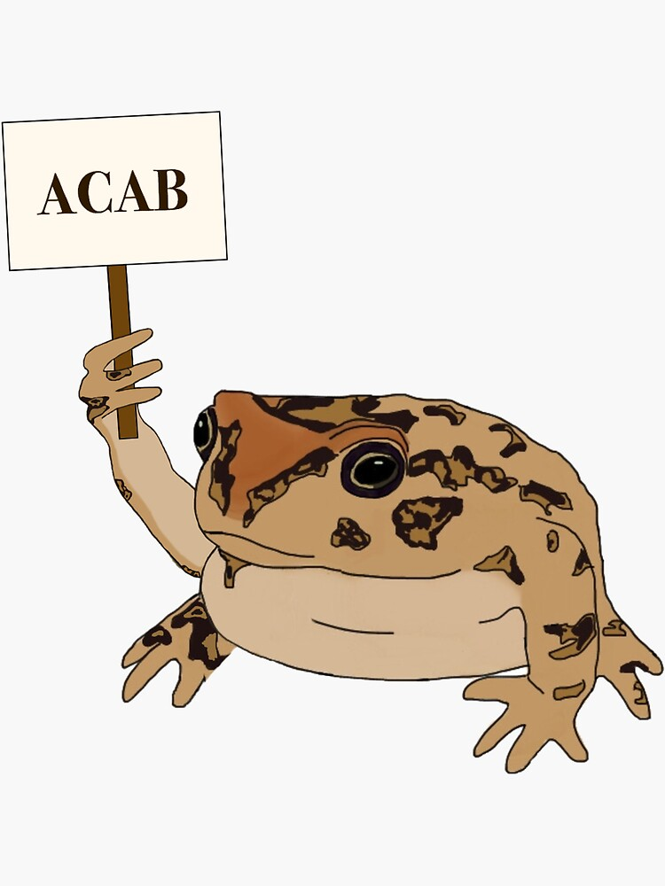 ACAB frog by andreawalejewsk