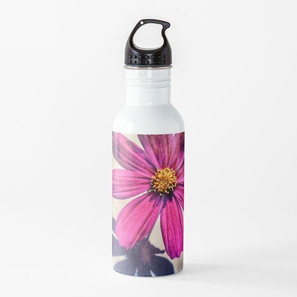 Purple flower Water Bottle