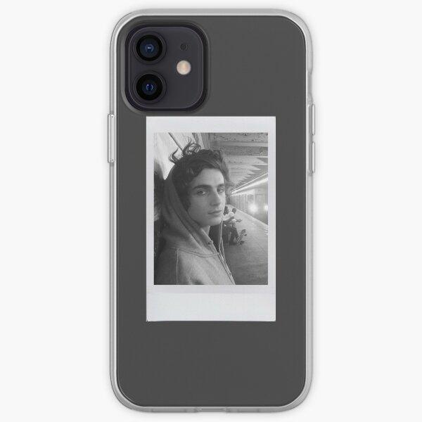 Timothée Chalamet Polaroid Coque souple iPhone
