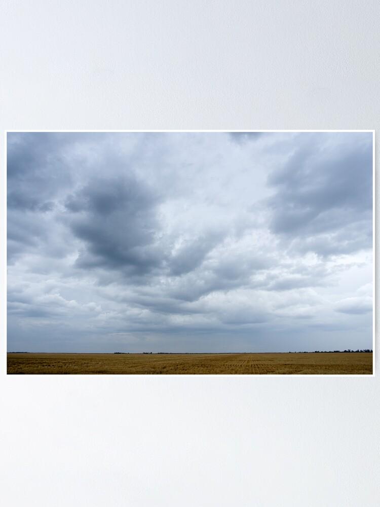 Alternate view of Washing the dust away - Goondiwindi- QLD - Australia Poster