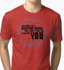 Must be an angel Tri-blend T-Shirt