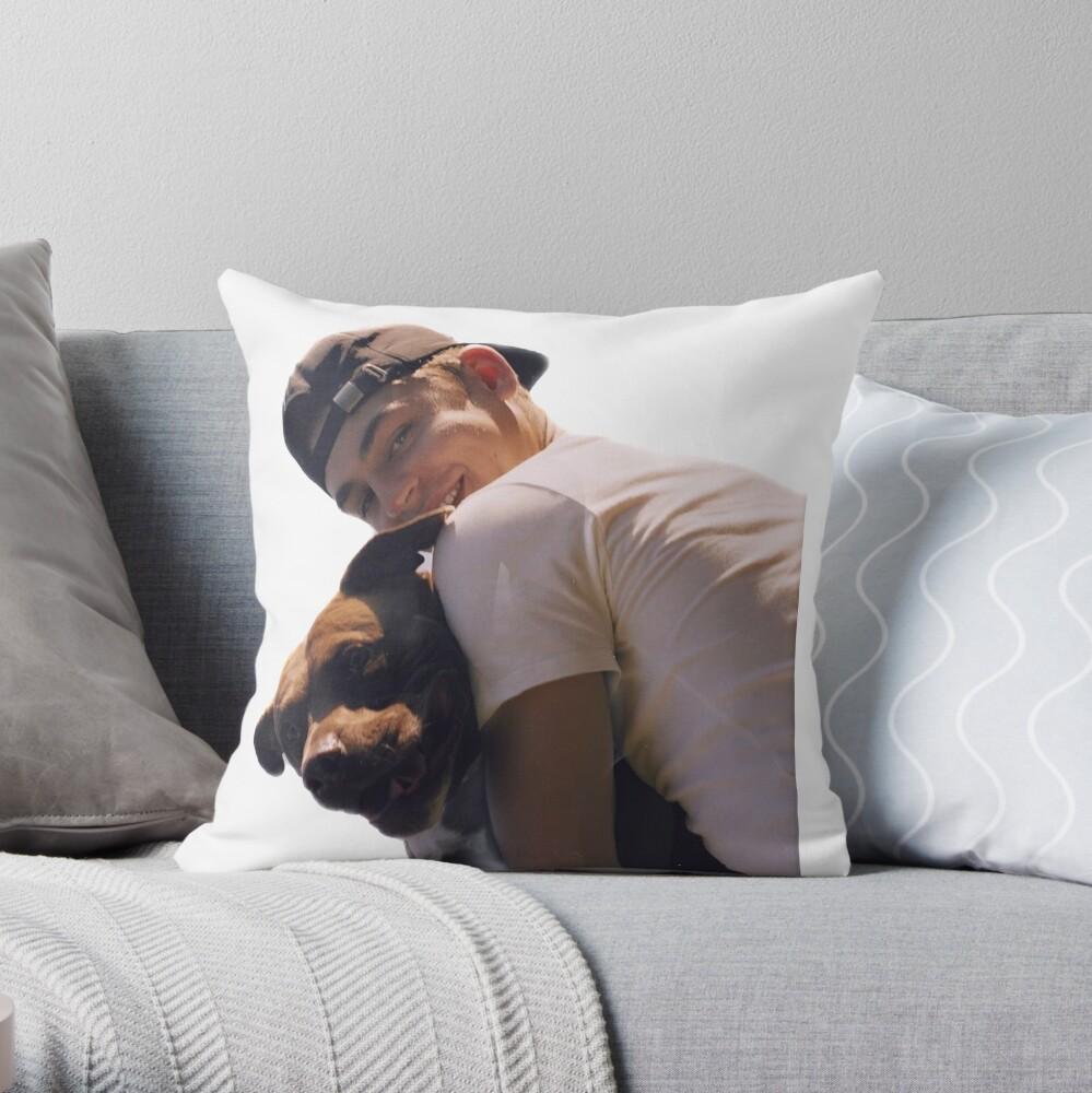 HERO FIENNES TIFFIN Throw Pillow