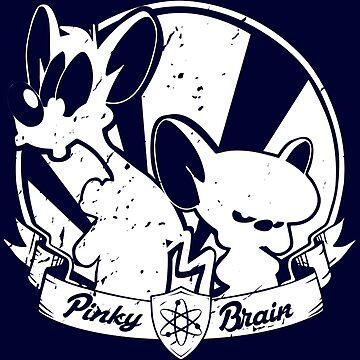 Pinky & The Brain by moombax