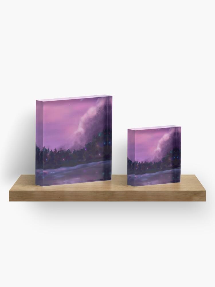 Alternate view of Fairy Lake  Acrylic Block