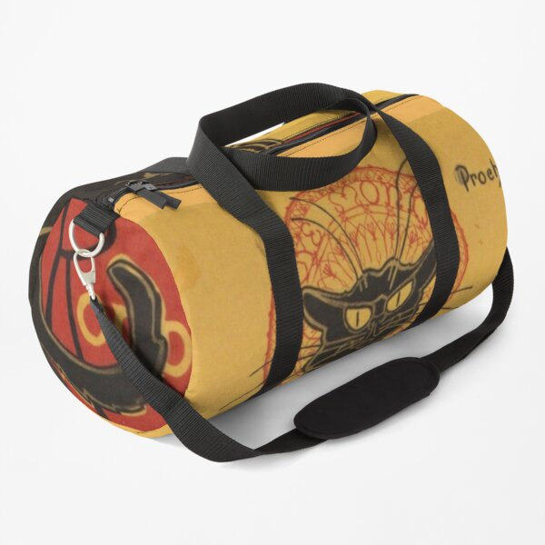 Soon, the Black Cat Tour by Rodolphe Salis Duffle Bag