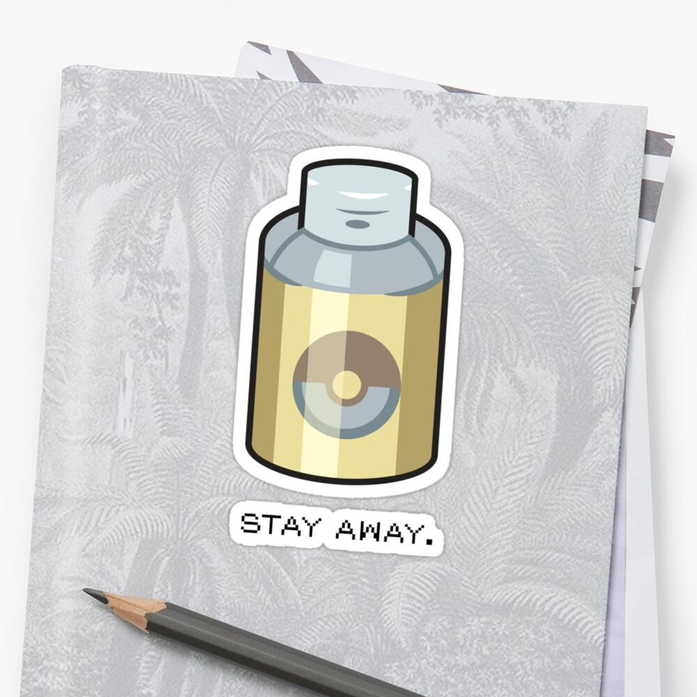 Stay Away by jdotrdot712