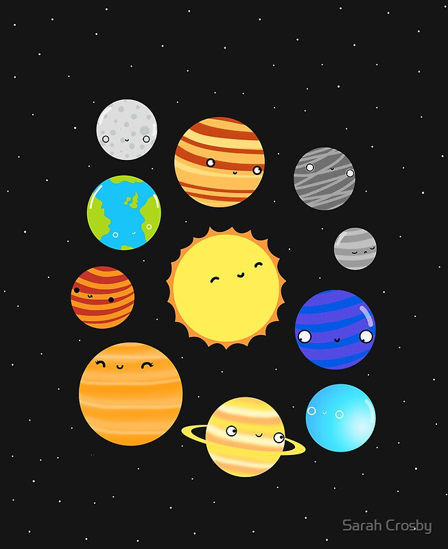 """""""The Solar System"""" iPad Cases & Skins by Sarah Crosby ..."""