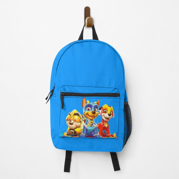 Paw Patrol Mighty Pups characters Backpack