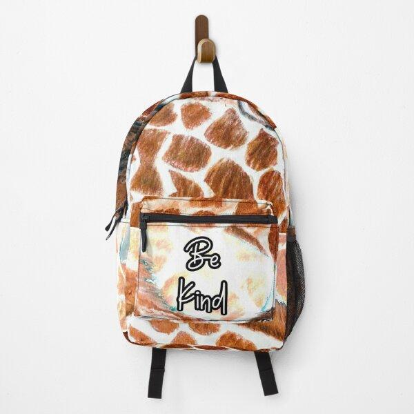 Be Kind Giraffe Backpack