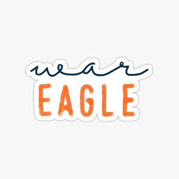 War Eagle Sticker