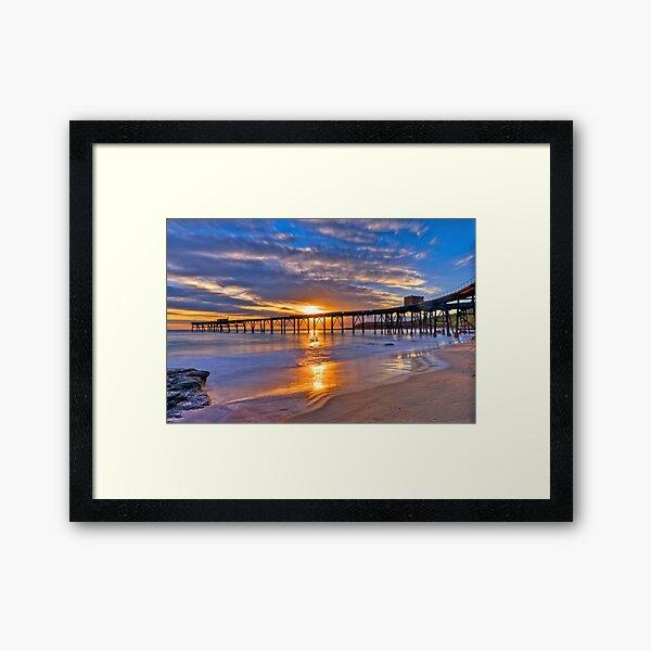 Here Comes The Sun. Framed Art Print