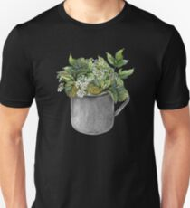 Mug with green forest growth T-Shirt