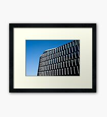 Office Building Contemporary Architecture Framed Print