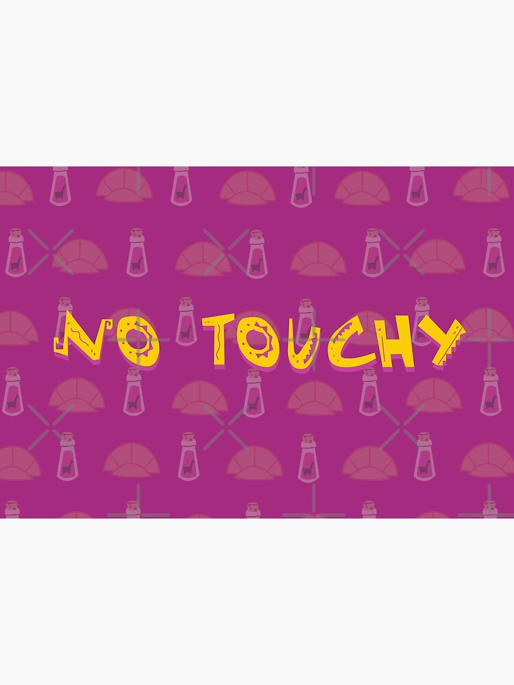 No Touchy (Purple) by themouselets