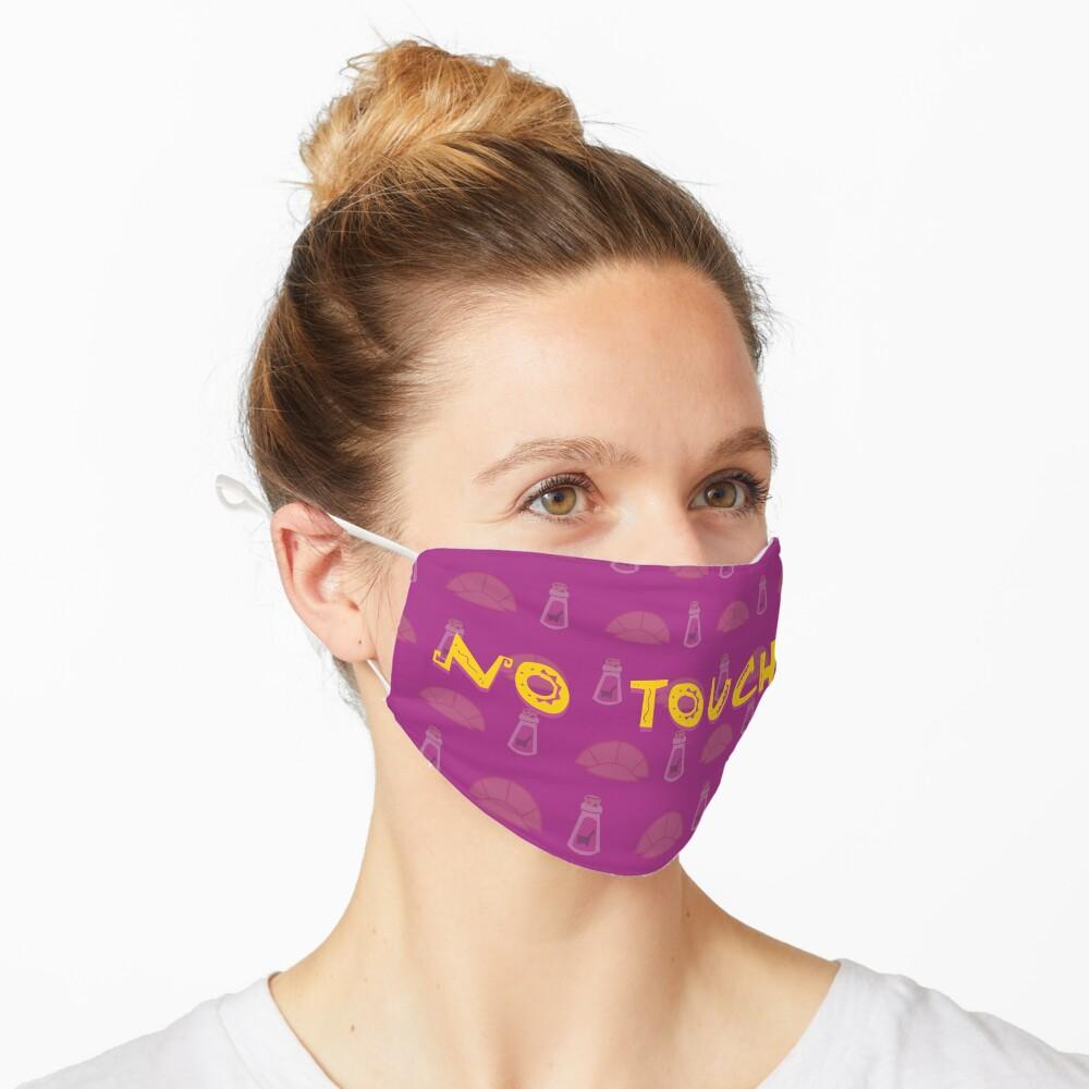No Touchy (Purple) Mask