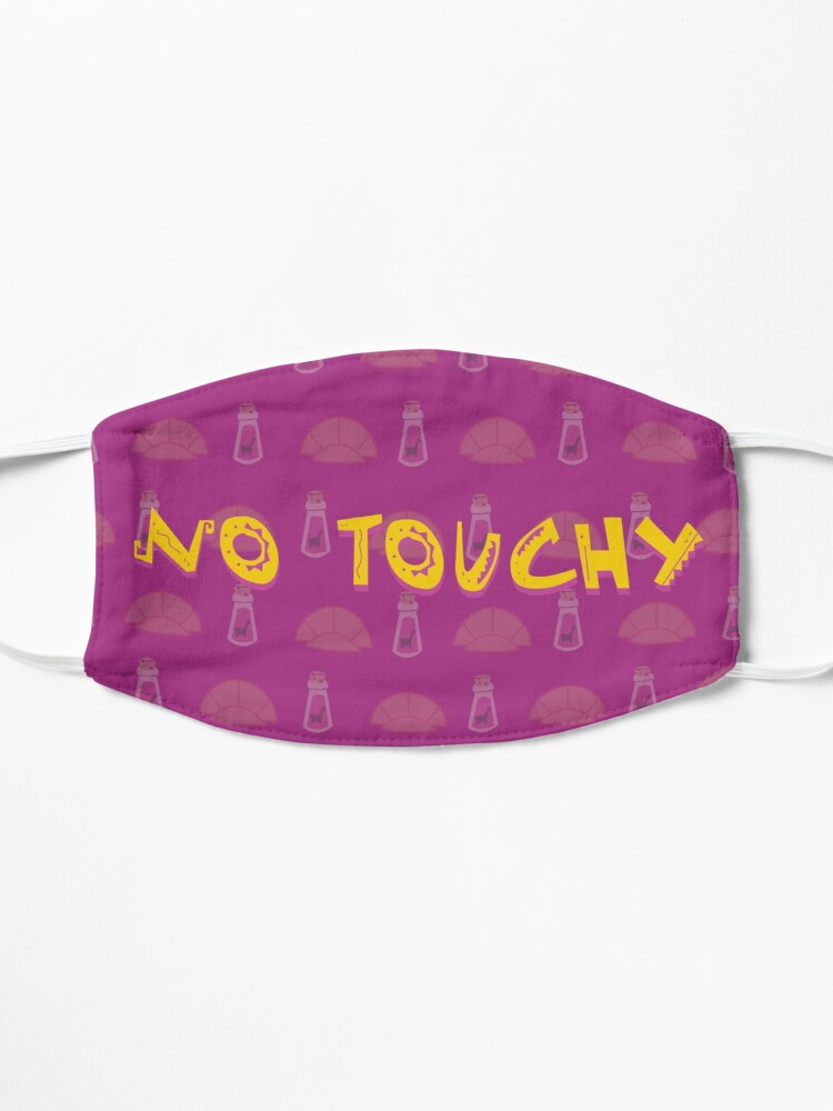 Alternate view of No Touchy (Purple) Mask