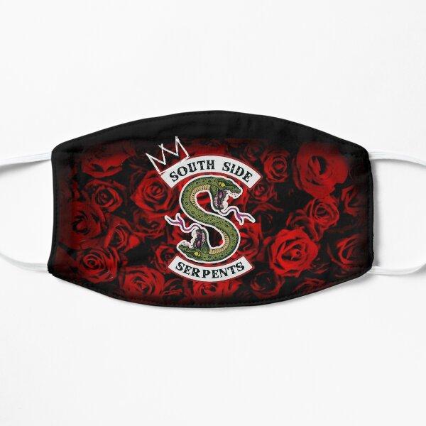 Serpents du côté sud sur un lit de roses Masque sans plis