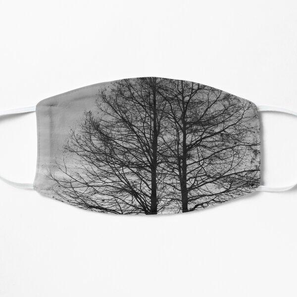 Twin Trees at The Lake Flat Mask