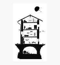 Architecture of italian home Photographic Print