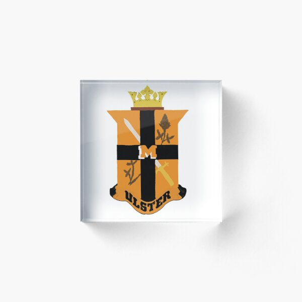 The Ulster Club crest Acrylic Block