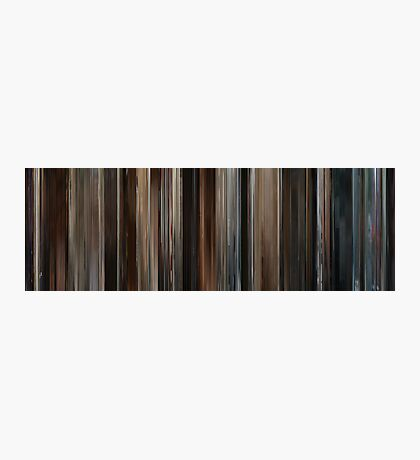 Moviebarcode: The Ides of March (2011) Photographic Print
