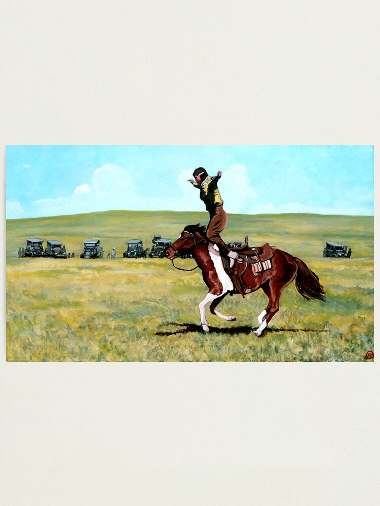 Alternate view of Babette Rides Again Photographic Print