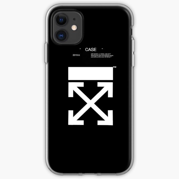 white case off  iPhone Soft Case
