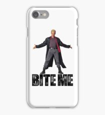 Spike from Buffy - Bite Me iPhone Case/Skin