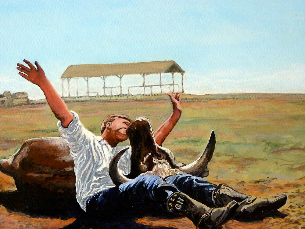 Bucky Get the Bull by Tom Roderick