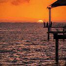 Sunset Fishing          (ED) by Raymond Warren