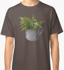 Mug with fern leaves Classic T-Shirt