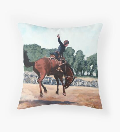 Hang on Hastings Throw Pillow