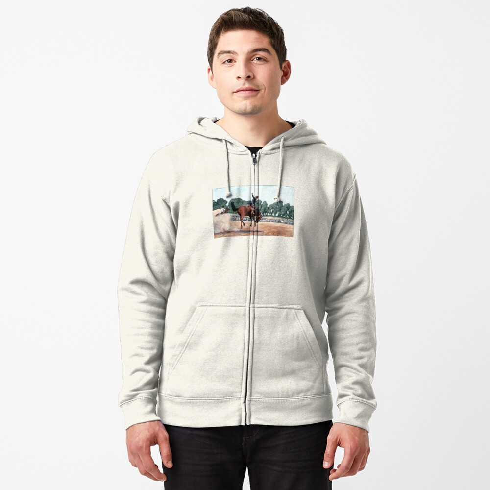 Hang on Hastings Zipped Hoodie