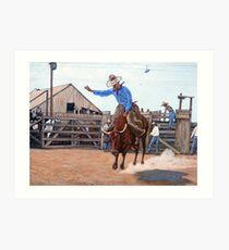Ride 'em Cowboy Art Print