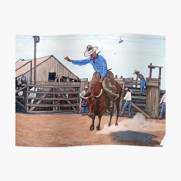 Ride 'em Cowboy Poster