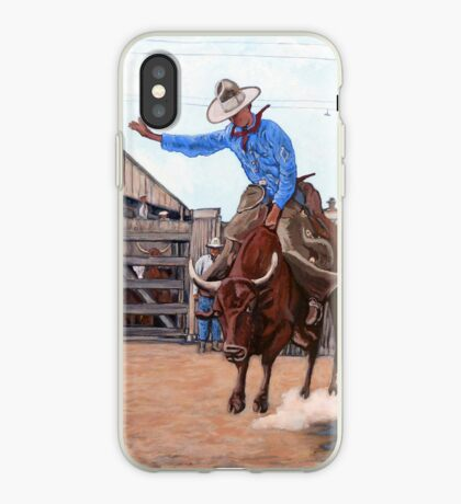 Ride 'em Cowboy iPhone Case