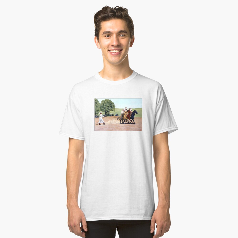 Suzzi Q Whirling the Rope Classic T-Shirt