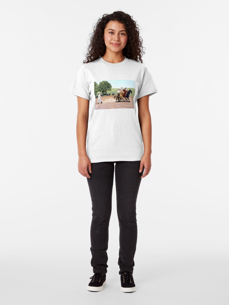 Alternate view of Suzzi Q Whirling the Rope Classic T-Shirt