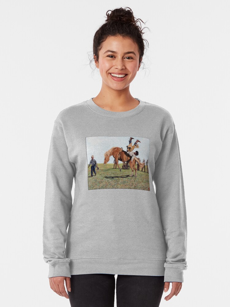 Alternate view of Waiting Line Pullover Sweatshirt
