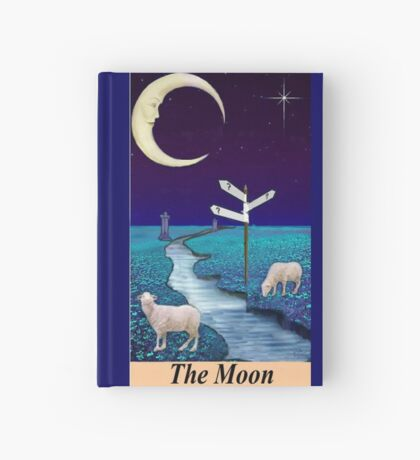 THE MOON Hardcover Journal