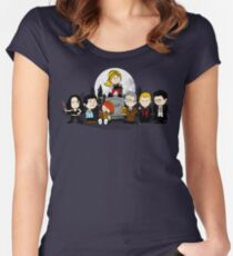 The Peanuts Slayer Women's Fitted Scoop T-Shirt