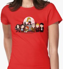 The Peanuts Slayer Women's Fitted T-Shirt