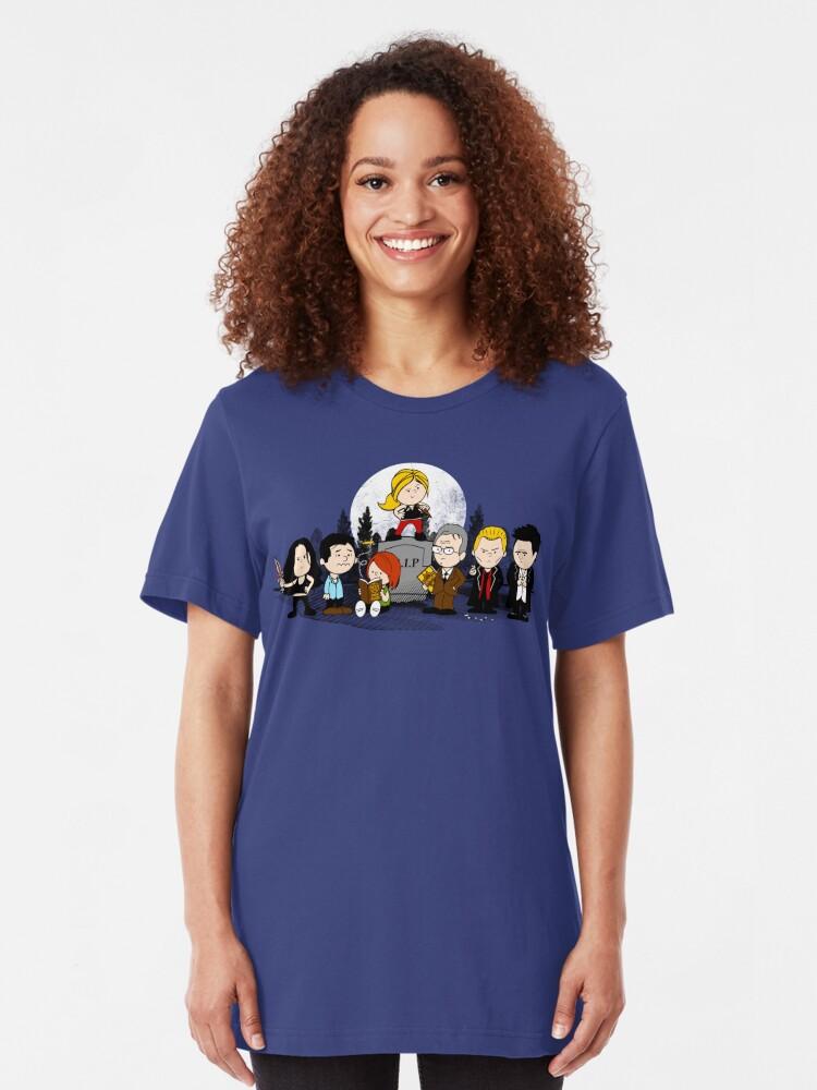Vista alternativa de Camiseta ajustada El Caanuts Slayer